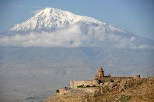 Khor Virap mit Ararat