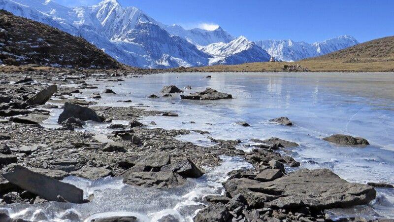 Nordufer des Eis-Sees (4600 m) © Diamir