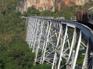 Goteik-Viadukt