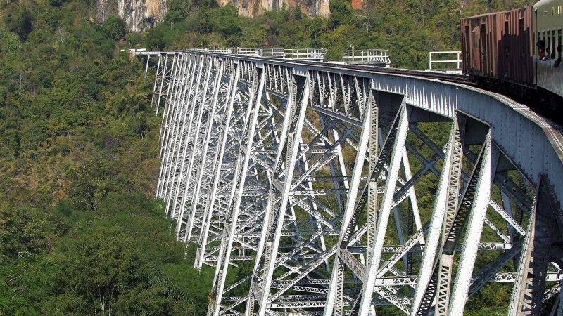 Goteik-Viadukt © Diamir