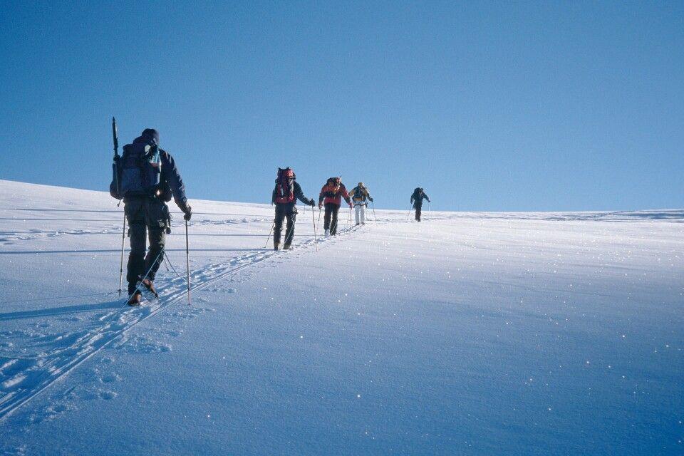 Langes Plateau am Kasbek