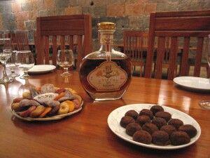 Verkostung von Cognac