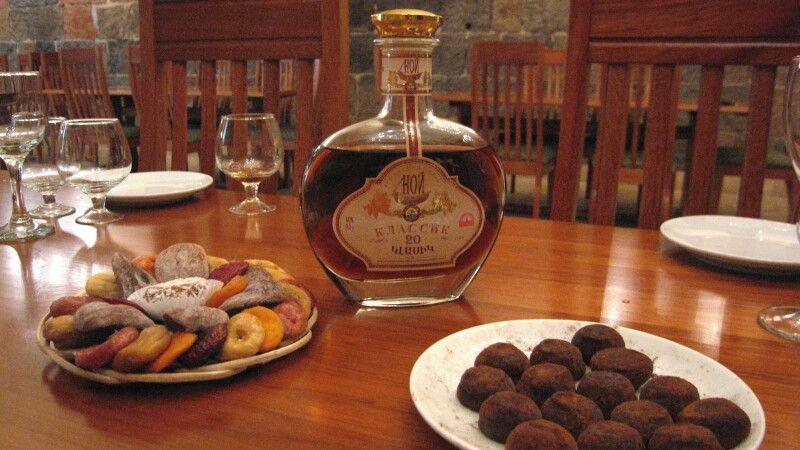 Verkostung von Cognac © Diamir