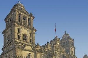 Beeindruckende Kathedrale von Mexiko-Stadt