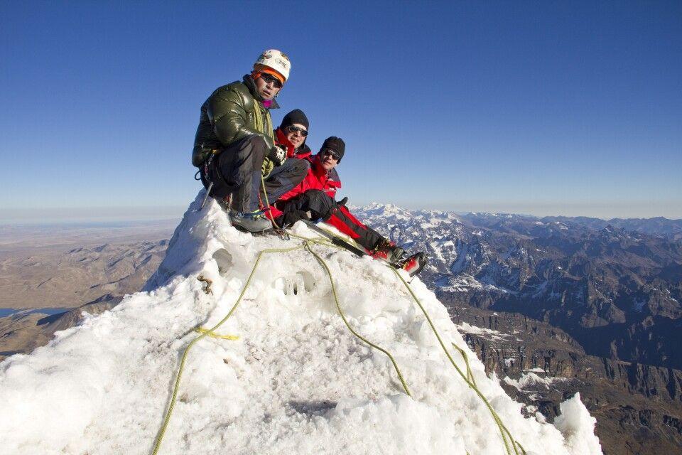 Bergbesteigung Huayna Potosi