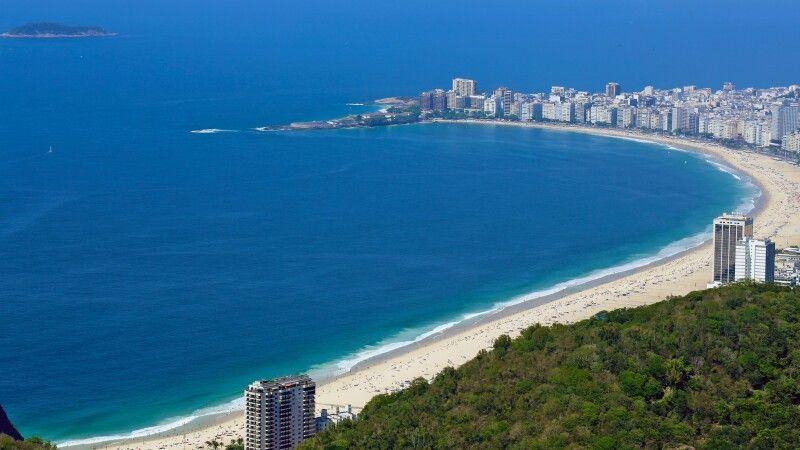 Strand von Rio de Janeiro © Diamir