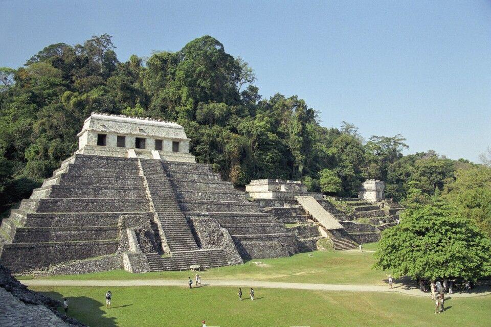 Tempel der Inschriften, Palenque, Chiapas, Mexiko