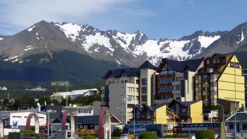 Ushuaia Blick in die Stadt © Diamir