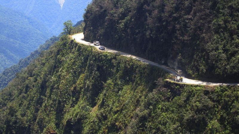 Yungas-Straße in Bolivien © Diamir